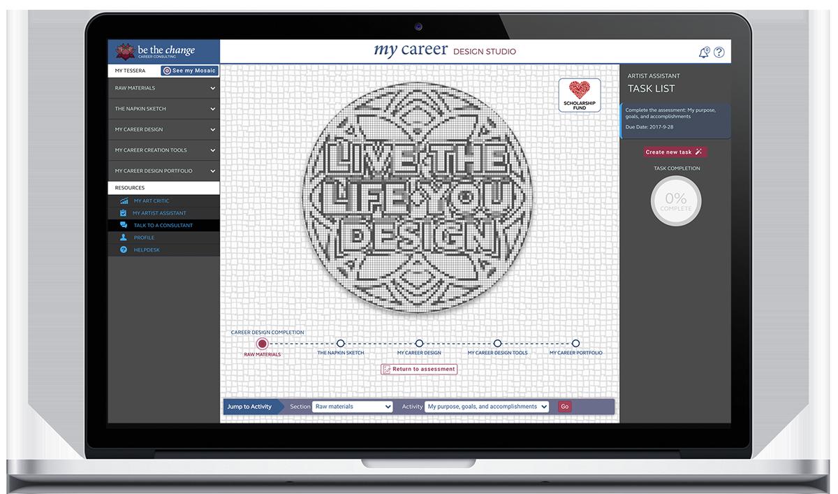 My Career Design Studio Application